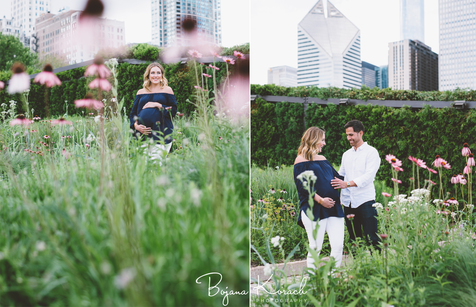 maternity session at the urban oasis