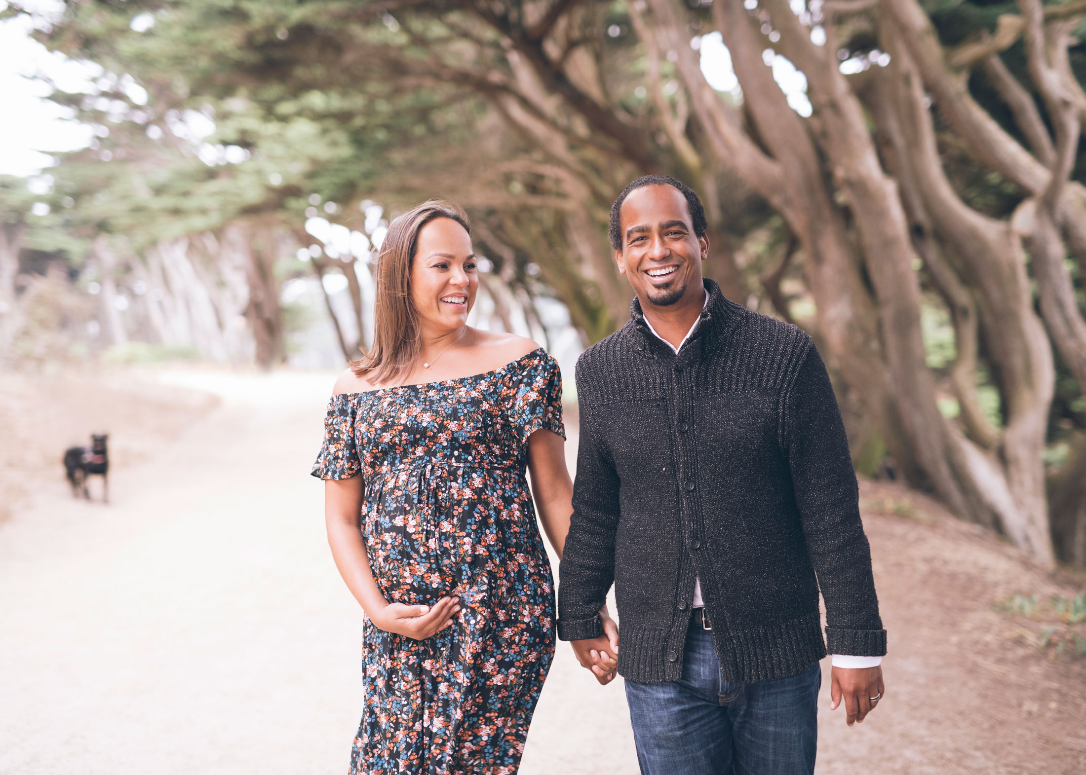 san francisco lands end maternity session.jpg