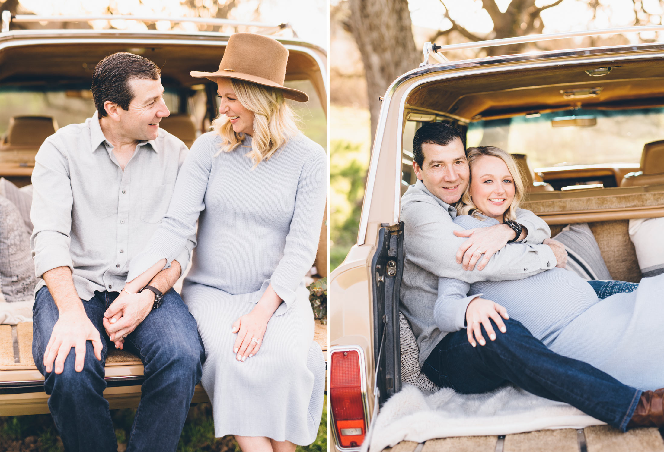 unique-maternity-photo-idea-with-classic-car.jpg