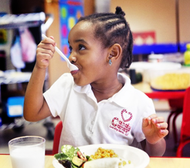 enroll in the Child Care Food Program - To learn more and enroll in the Child Care Food Program (CACFP), click here!