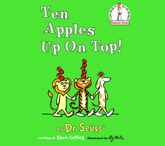 Books - Check out these great books about apples.