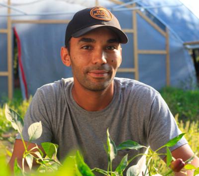 Farmer Spotlight - Meet this month's local farmer.