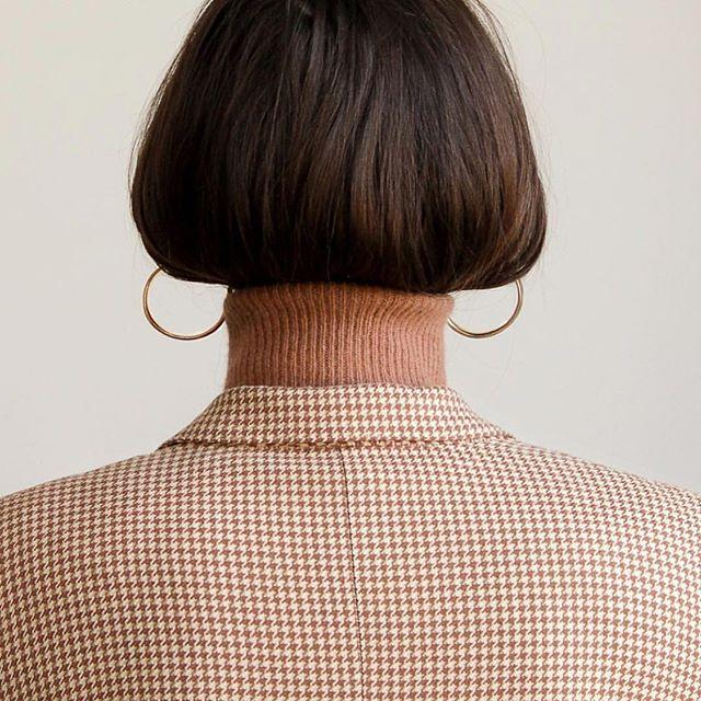 It's the roll neck season, @bonsergentstudio