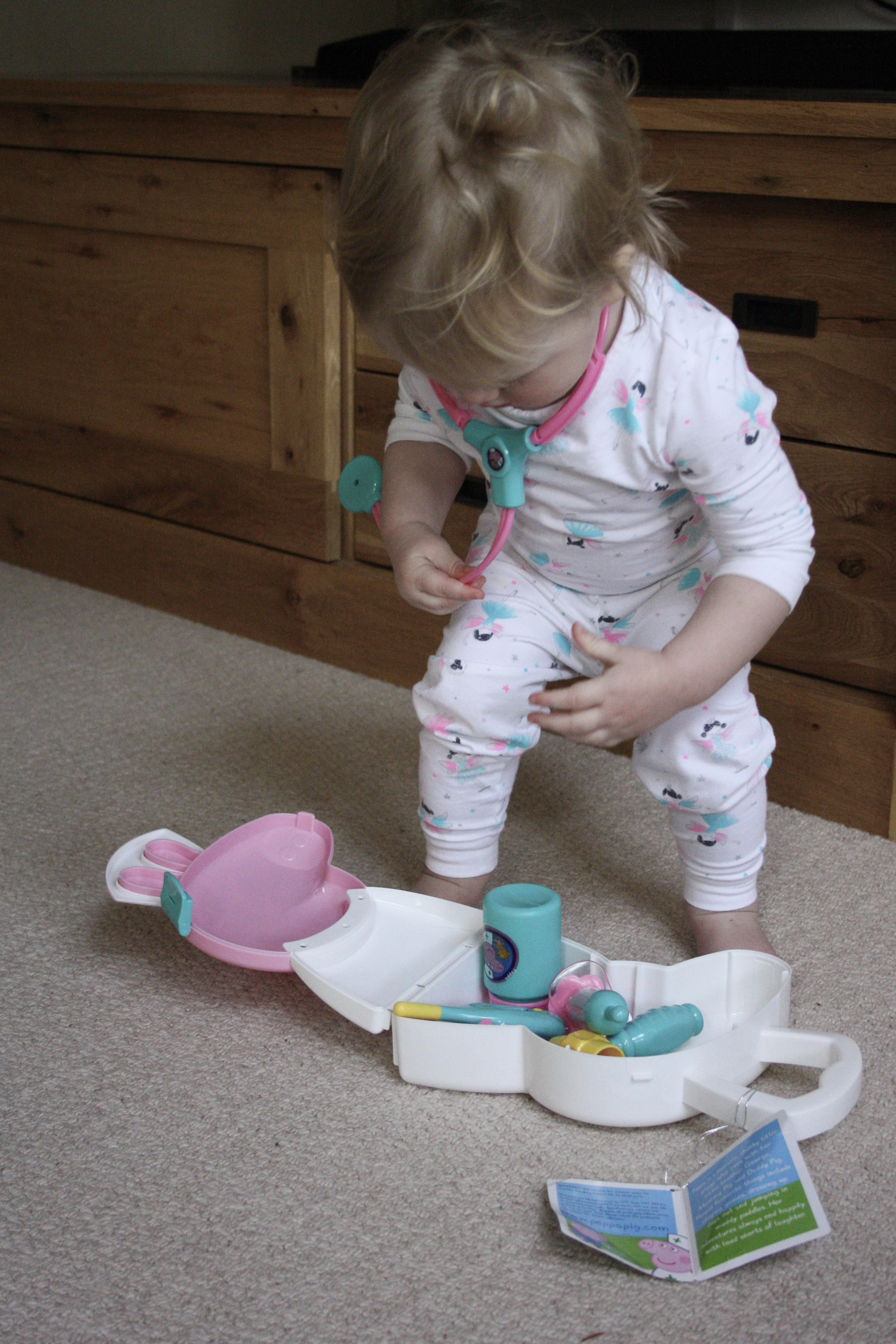 Bella's PJs from a marks and spencer 3 pack  here