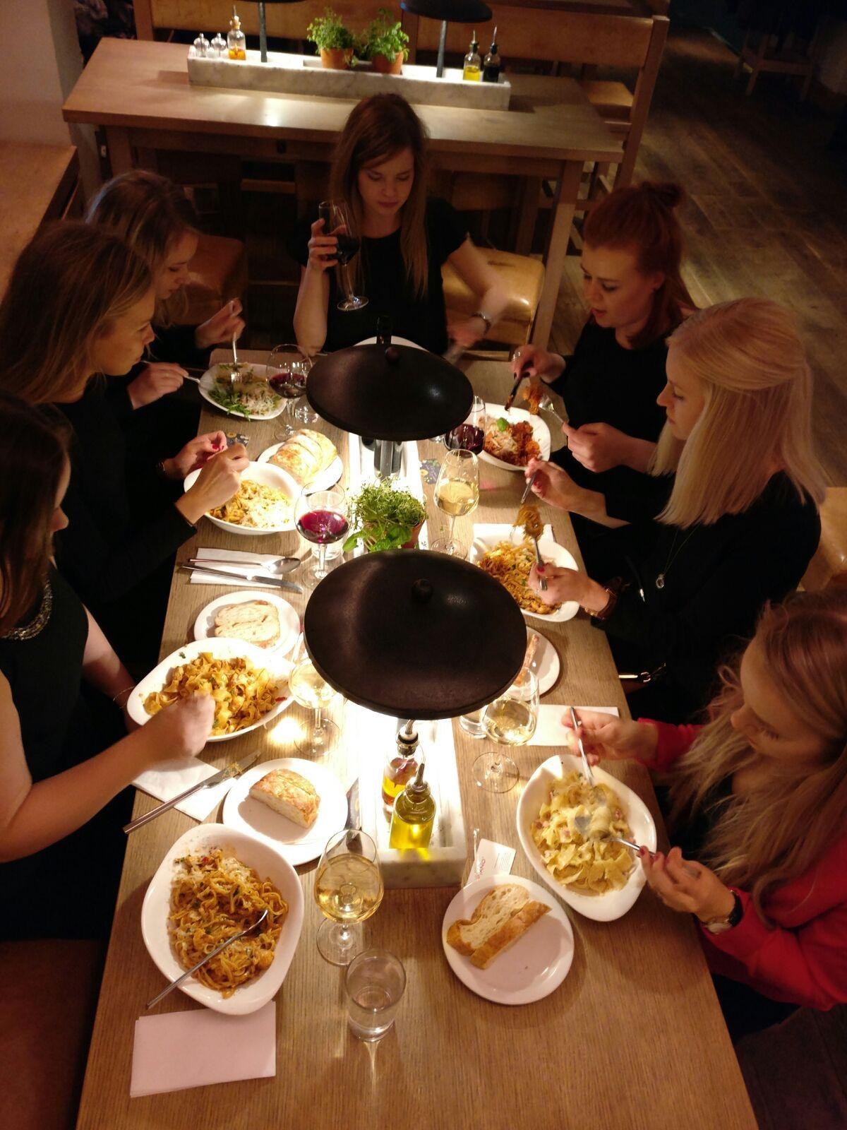 Mat och vänner i Helsingfors 2016.