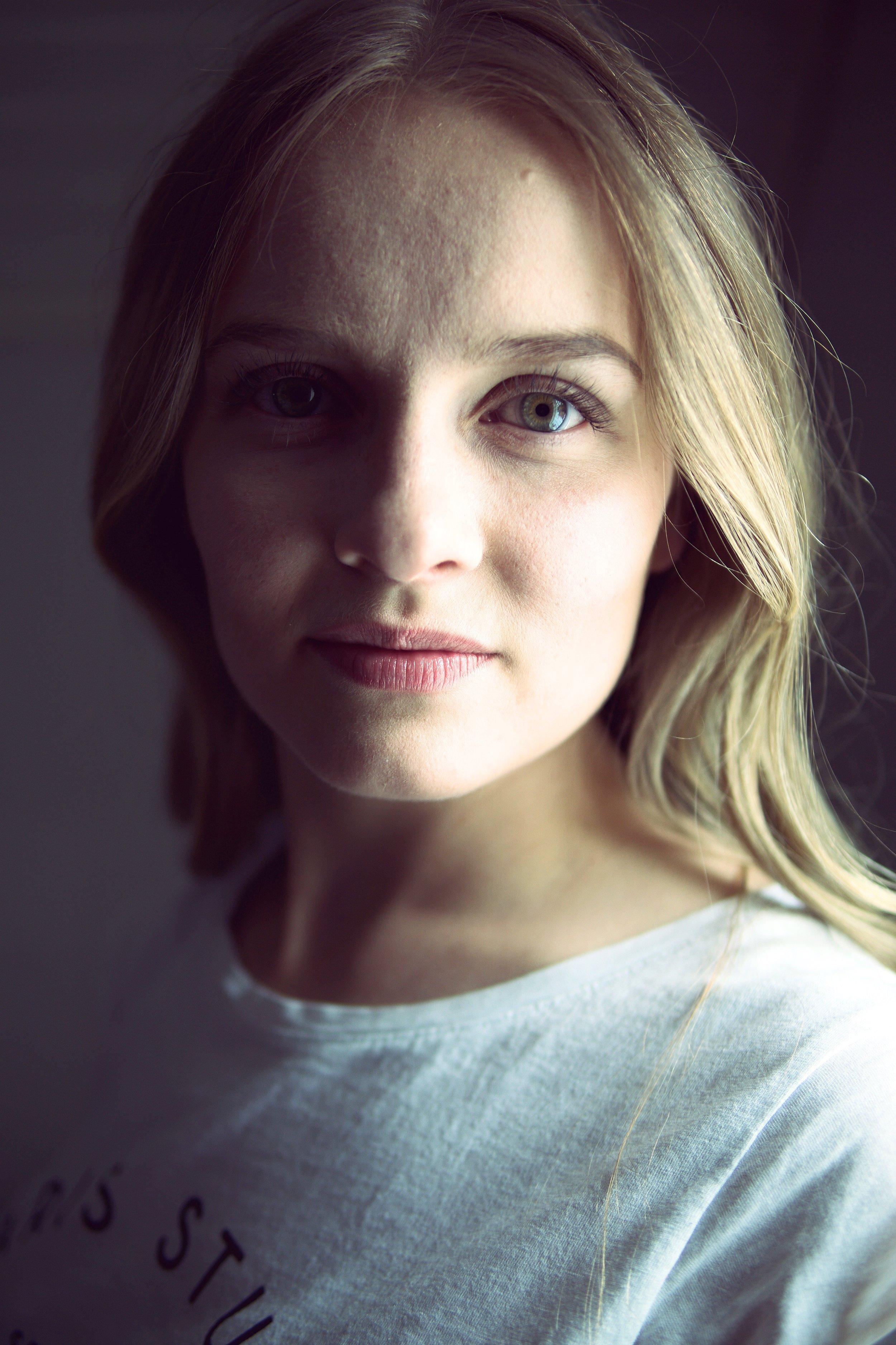 Foto av bästa syster Ebba.