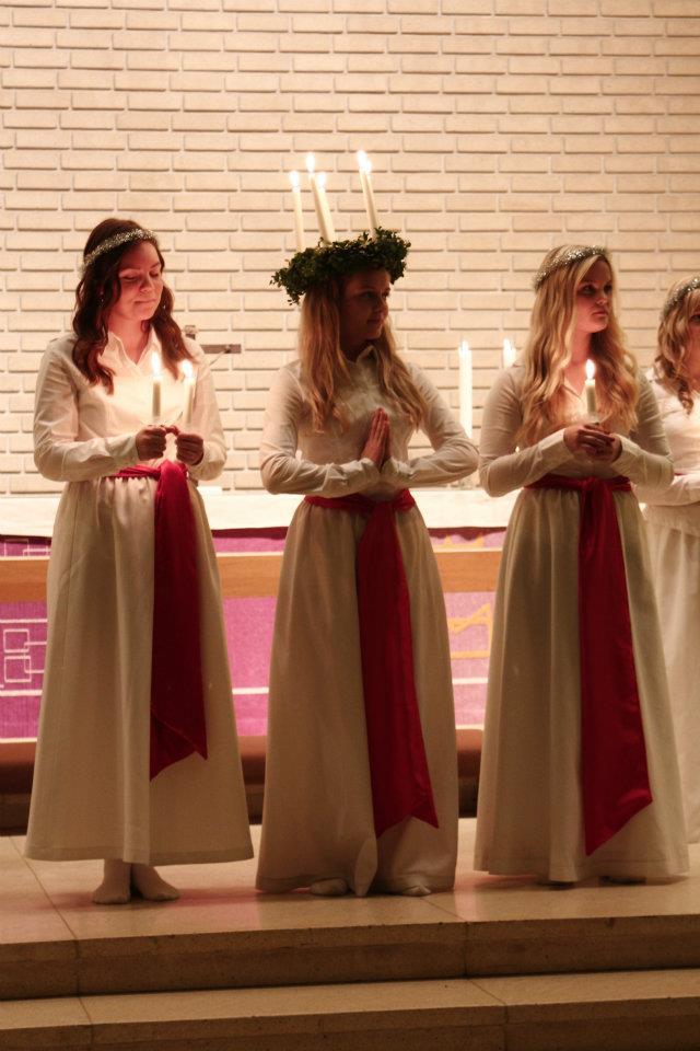 Lucia 2011. Foto: Jennie Renlund