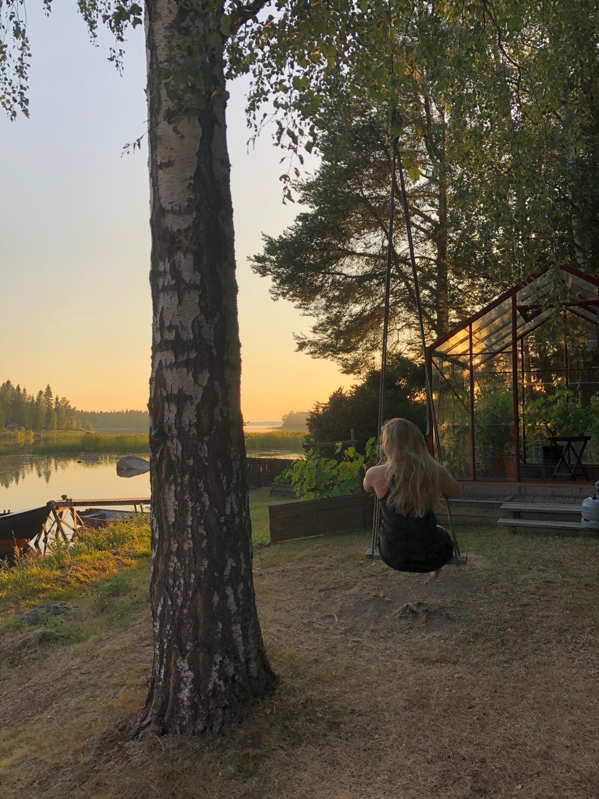 Jag och egentiden. Fångad av min vän Sofia Ylimäki-Lindqvist