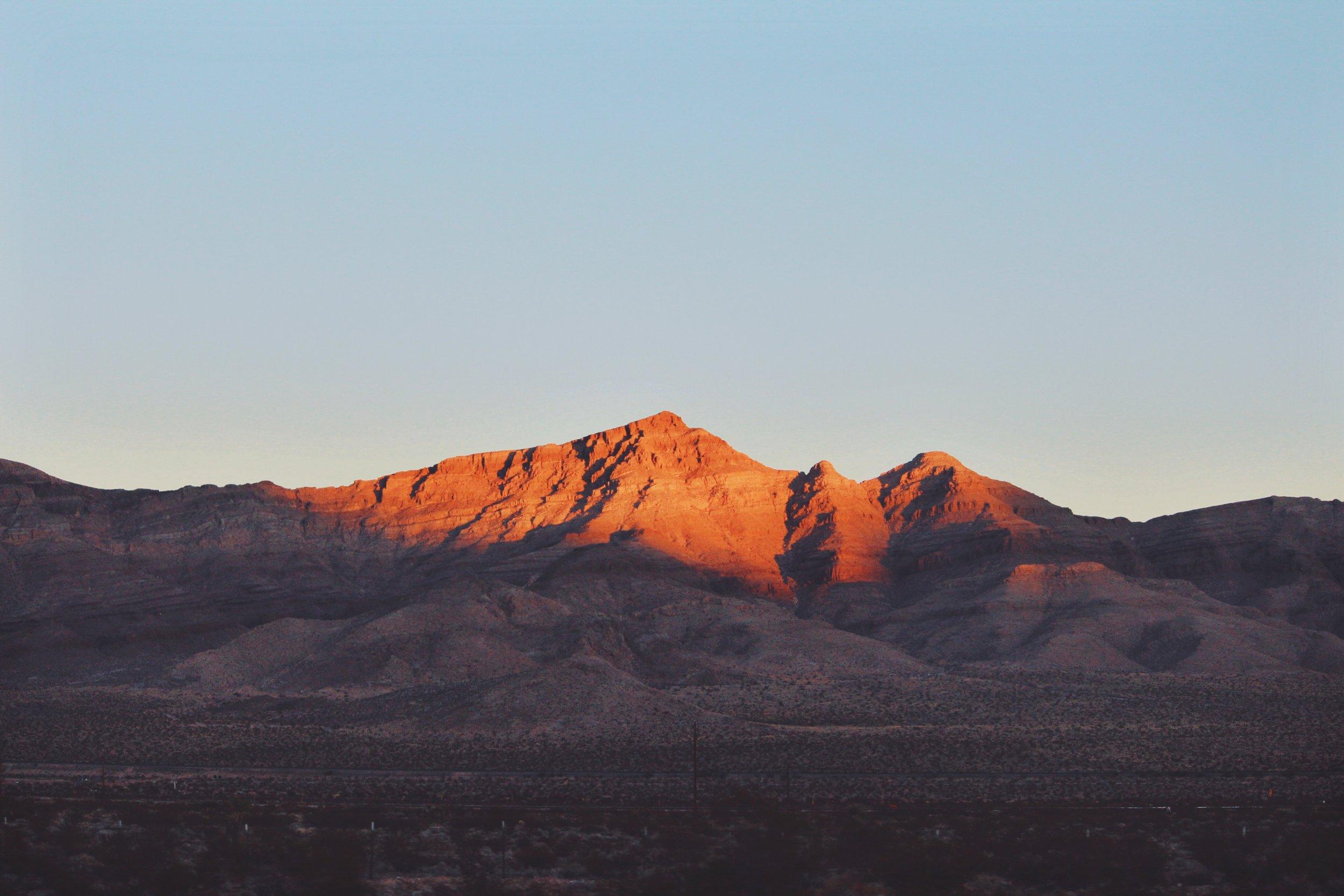 Mountain Sunset - Mountain Pass, CA.jpg