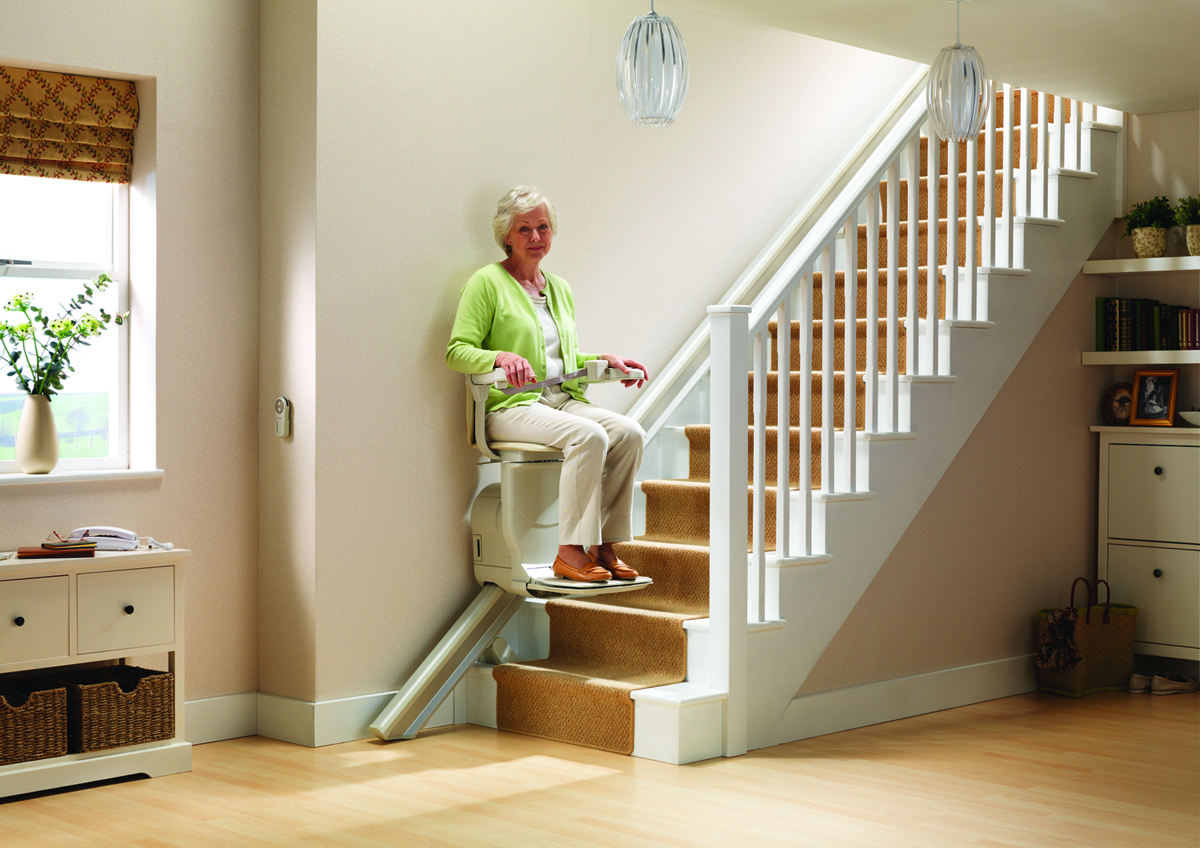 Stannah 600 straight Stairlift