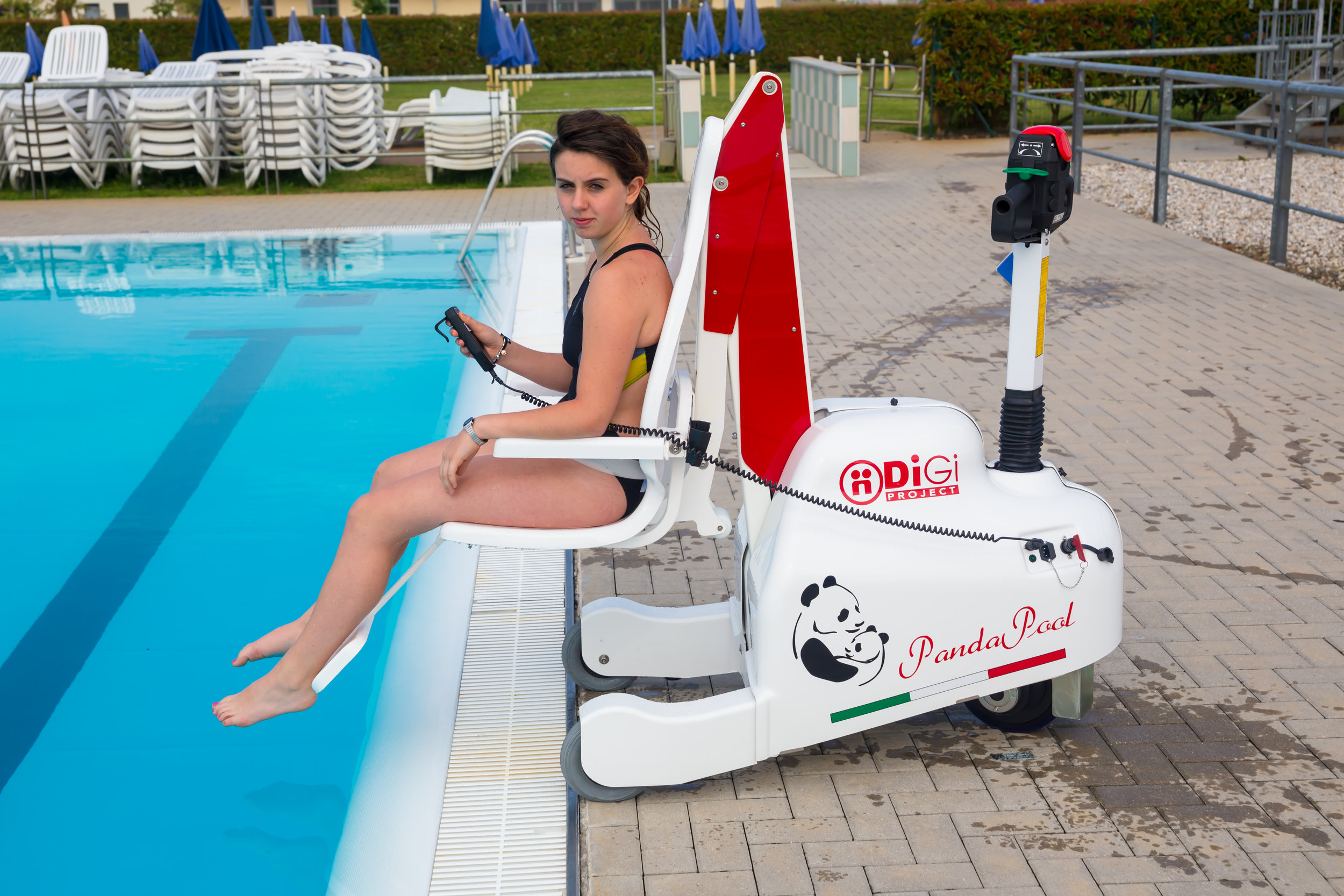 panda portable pool lift