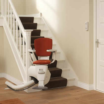 Thyssen flow 2 curved stairlift