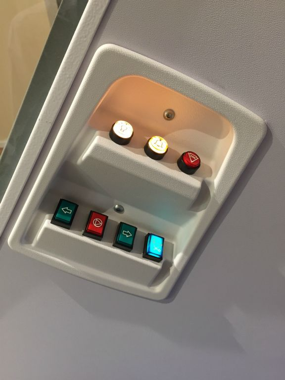 wessex home lift control panel