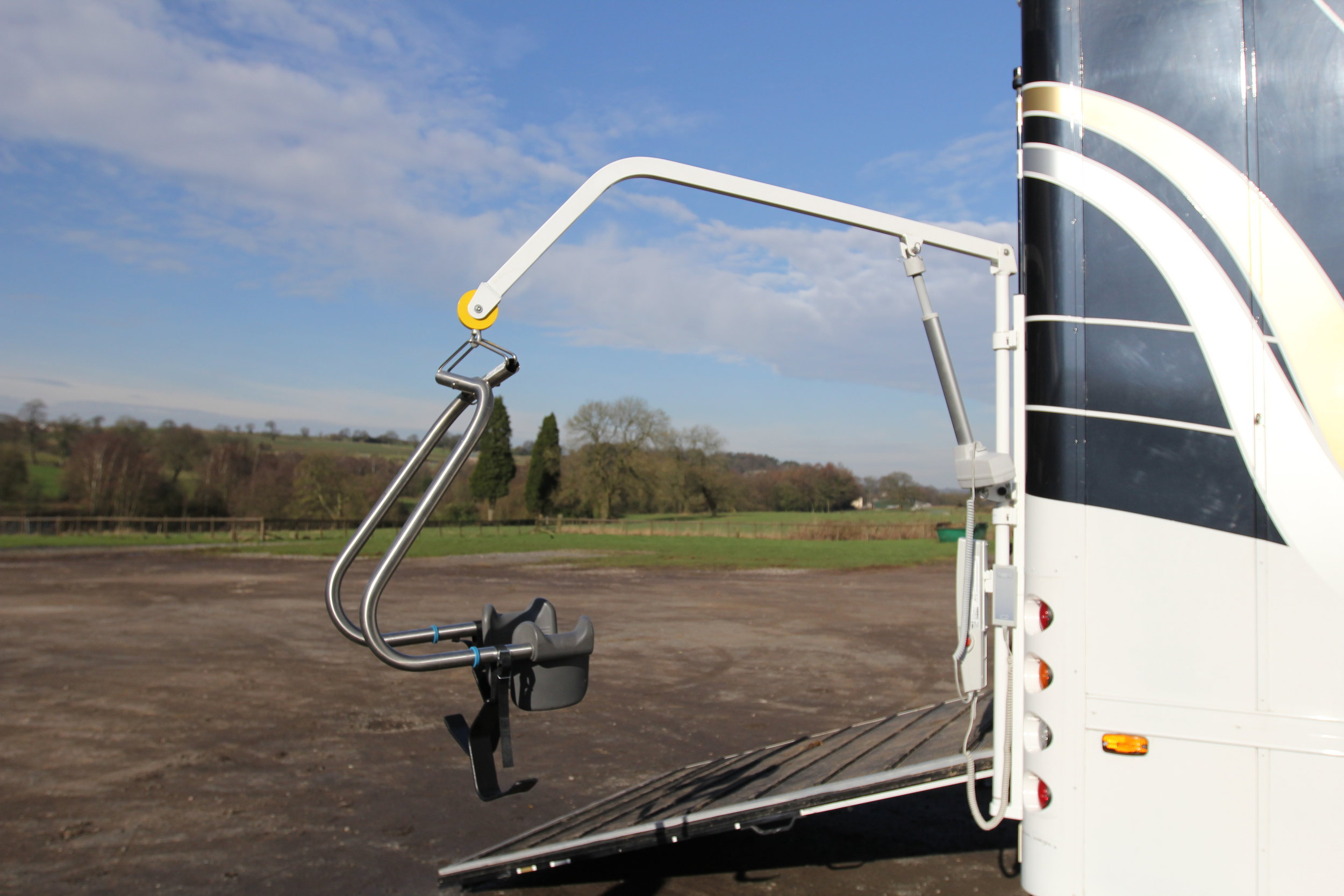 Para Rider Horsebox Disabled Access Hoist