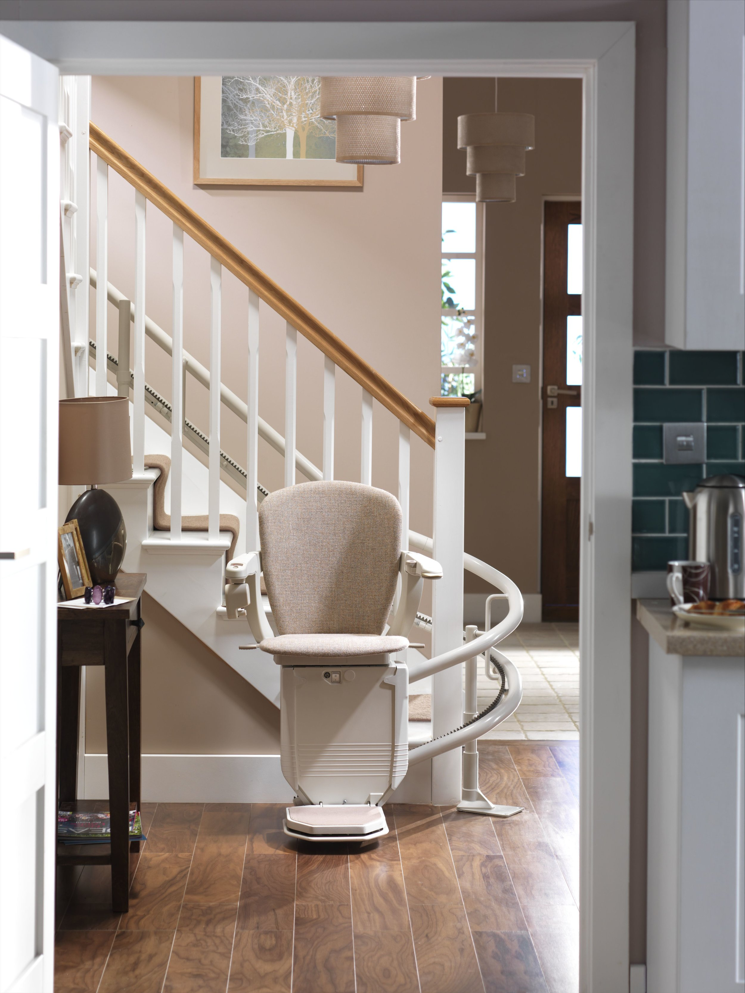Stannah Starla 260 Curved Stairlift
