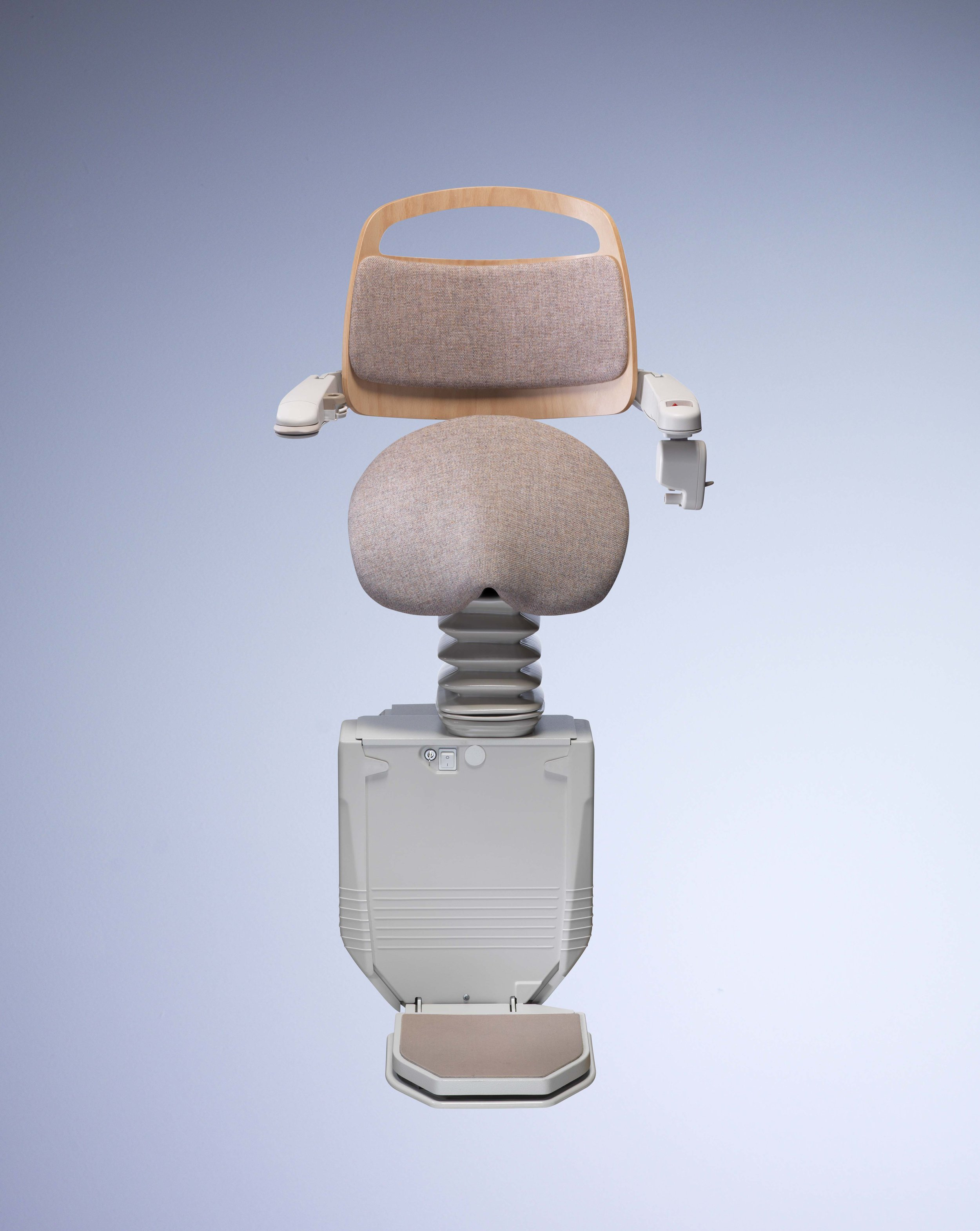Stannah Sadler Seat For People with Limited Flexibility in Knees and hips