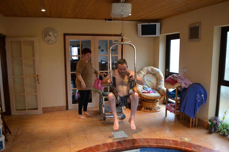Handi-Move Self Hoist Pool Lift