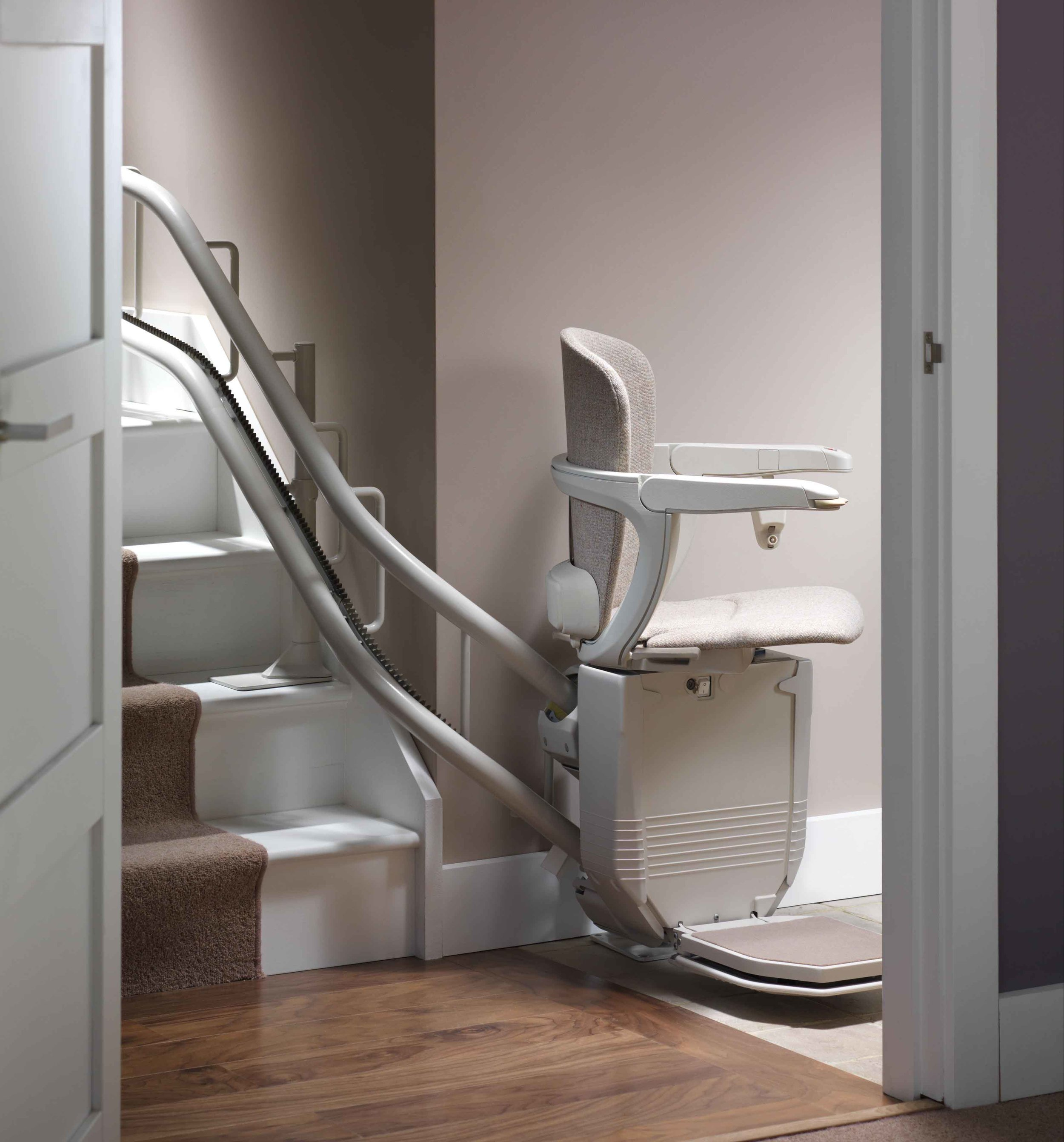 Downward Facing Swivel Seat Stairlifts