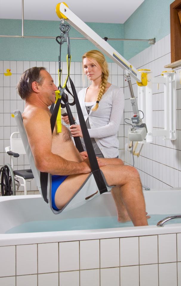 Handi-move Bathing Hoist with Seat Sling