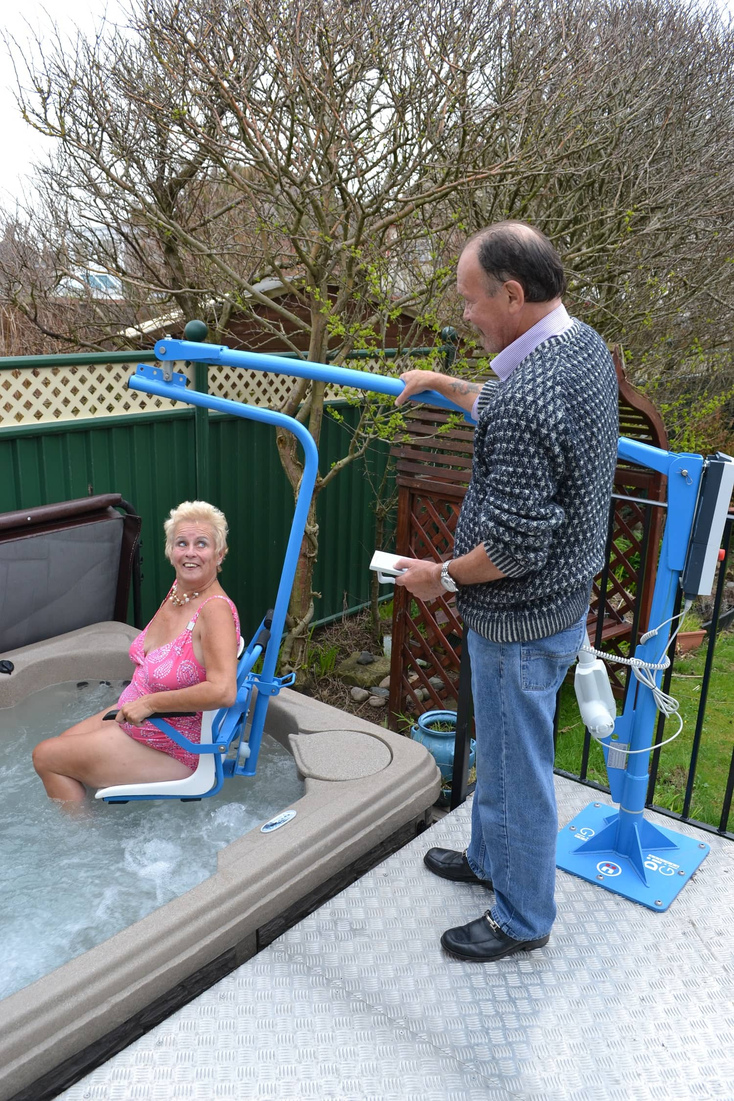 Digi Pool Lift In Ground Hot Tub Access Hoist