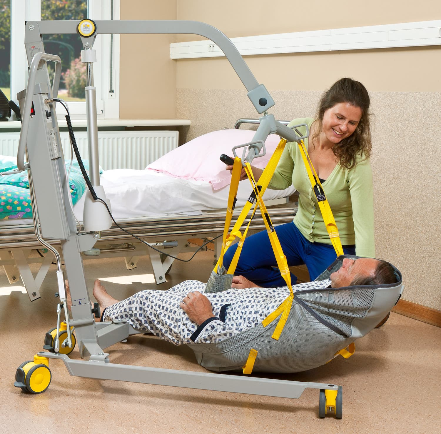 Mobile Hoist for Disabled People