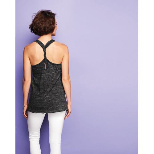 District ® Women's Cosmic Twist Back Tank