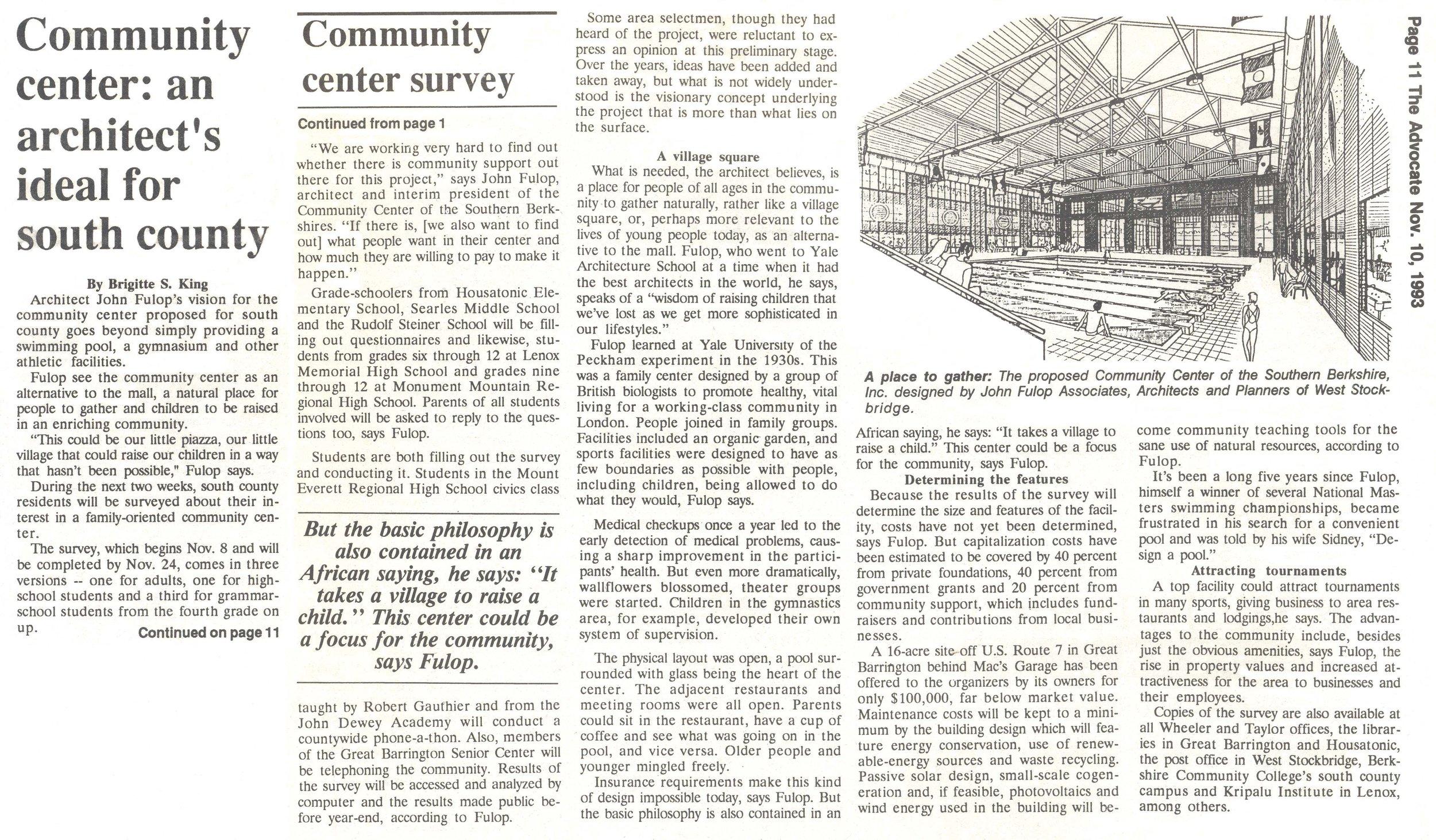 ArchitectsIdealForSouthCounty Advocate Nov1993.jpg