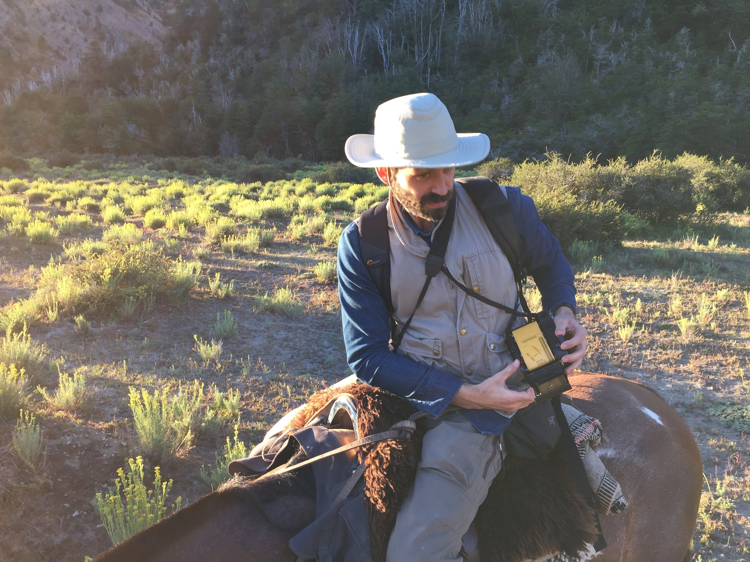 / FEBRUARY 2018 /   6 days on this horse across Argentinian Patagonia for Porter