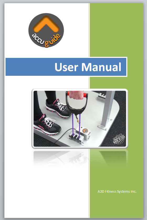 AccuGuide User Manual V1.1 - Click here to download the printable BookletClick here to view the Booklet