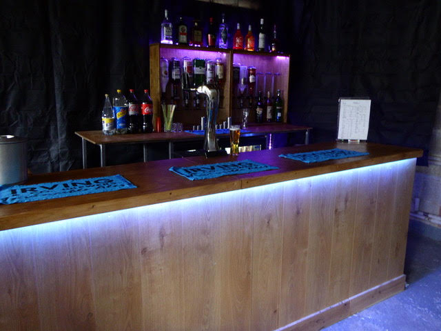 Option 2:Tab Bar  - Involves running a tab up to an agreed limit, then your guests purchase their own drinks.