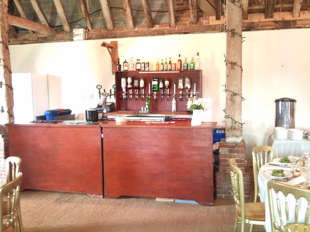 Fixed Venue Bar - We will also provide a bar service where a venue already has a designated bar area.