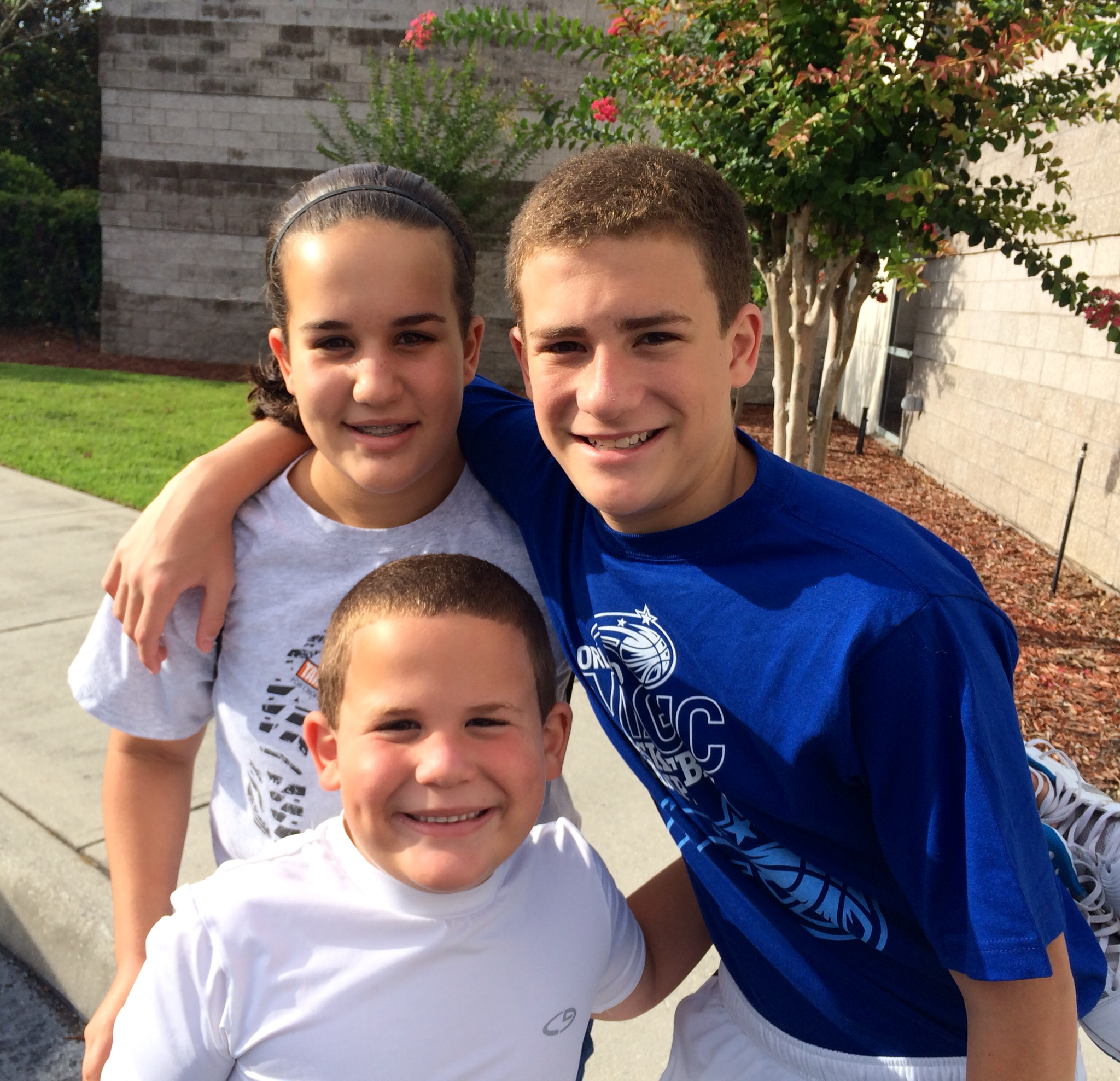 Back in early June 2014 our twins were 12 and our son was 6. We did everything we could to keep their minds off of cancer.