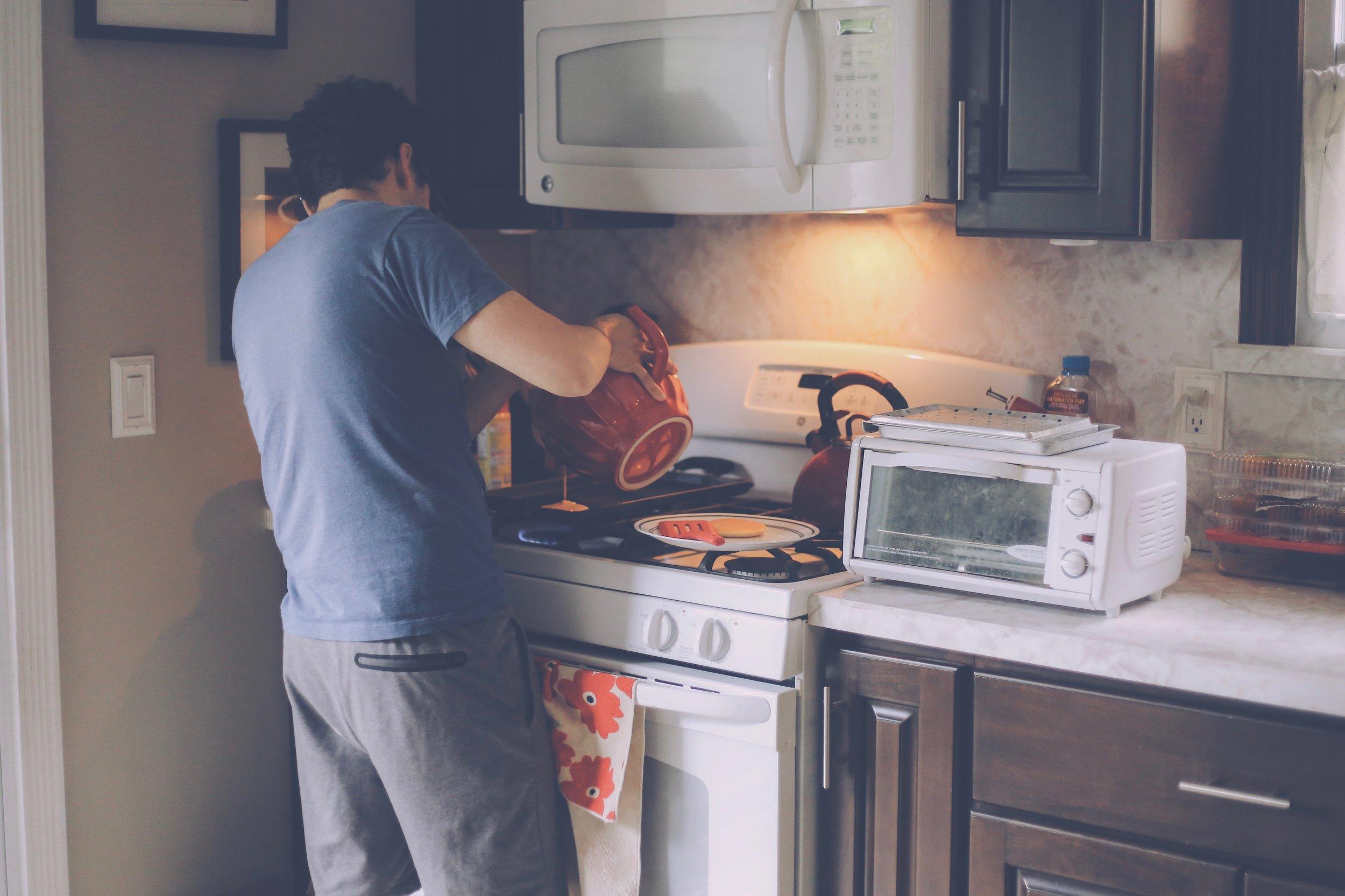 Pancakes, Documentary Photography, Staten Island