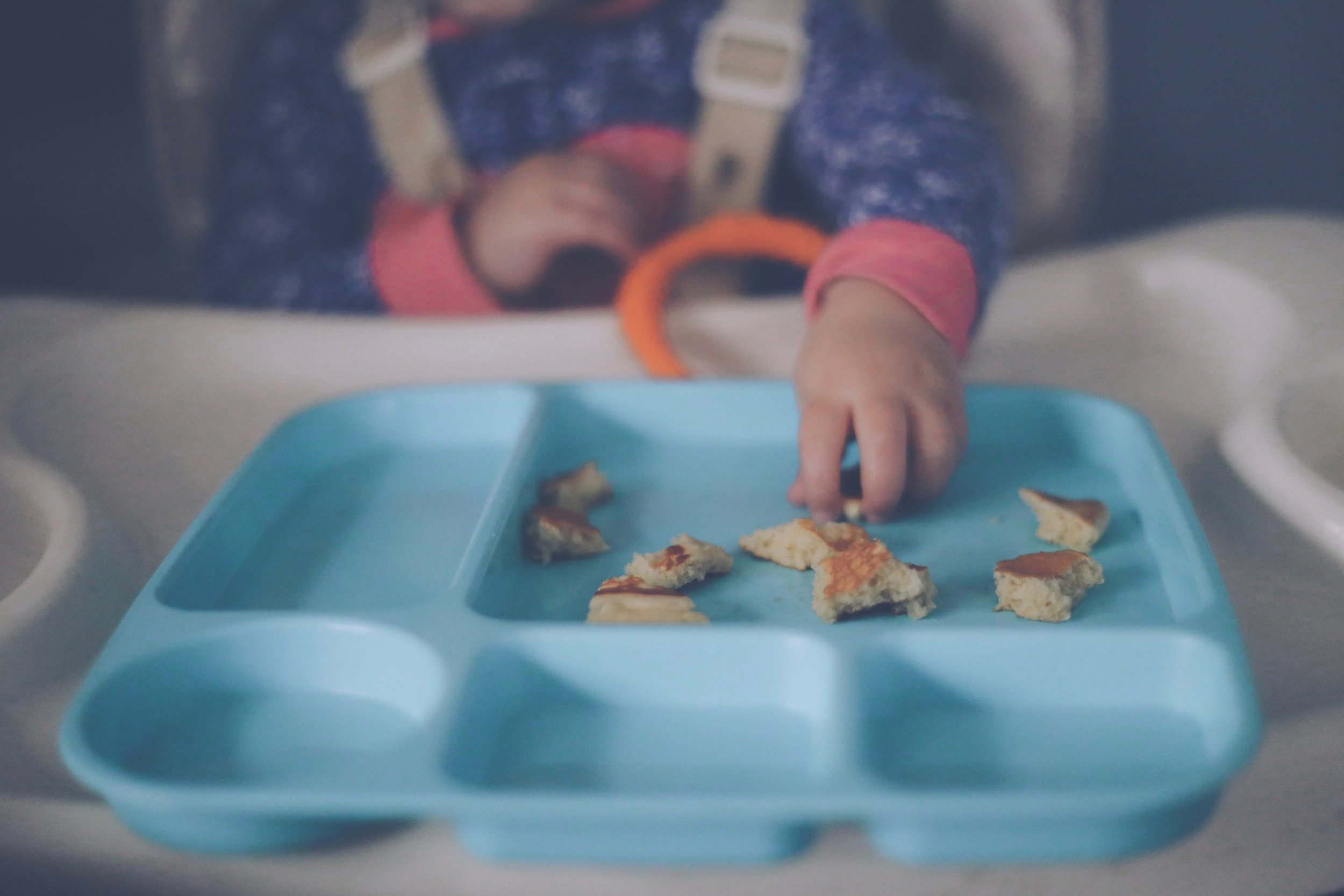 Toddler Breakfast, Family Photojournalism, Staten Island