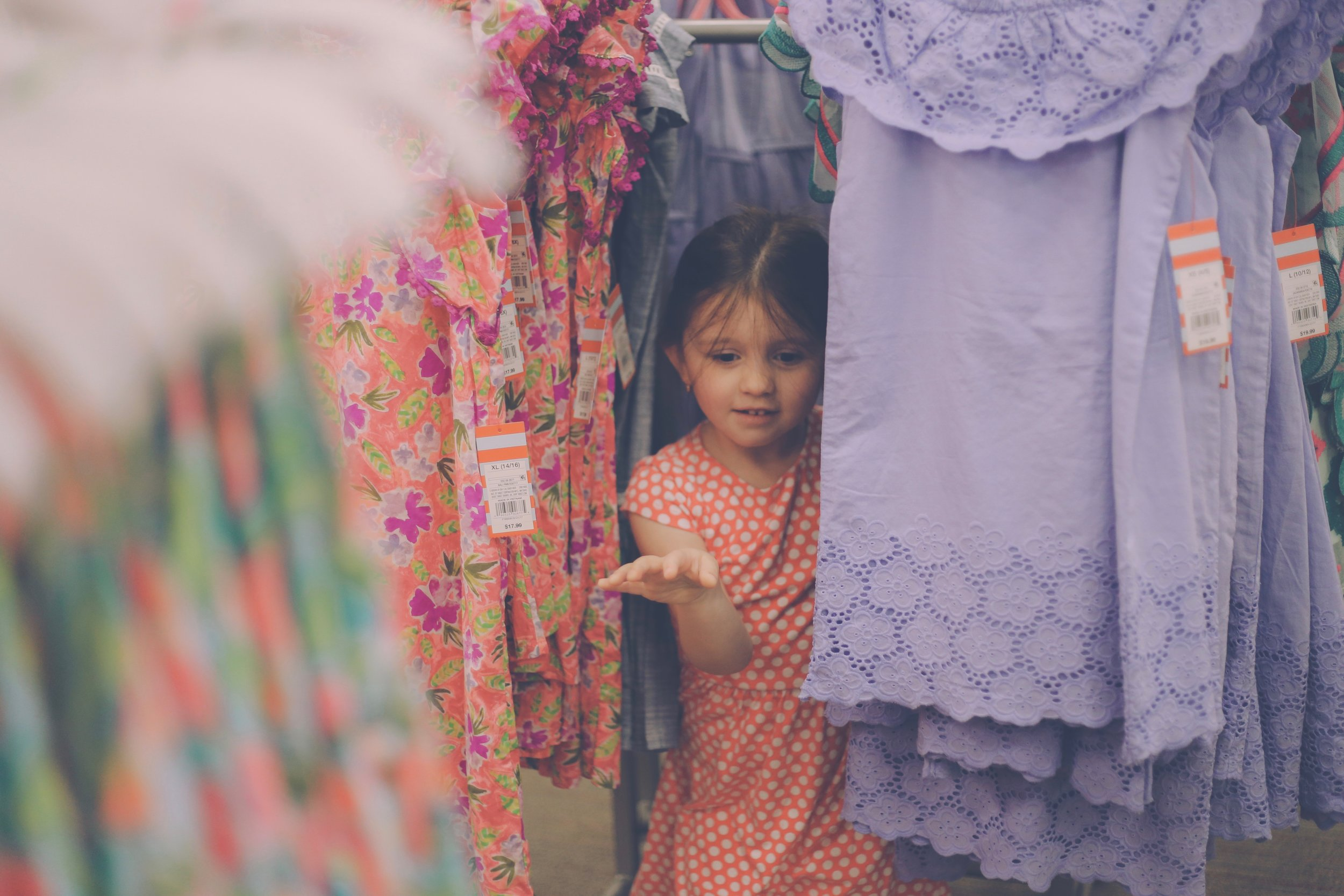 Kids Clothes Shopping, Family Photojournalism, Staten Island