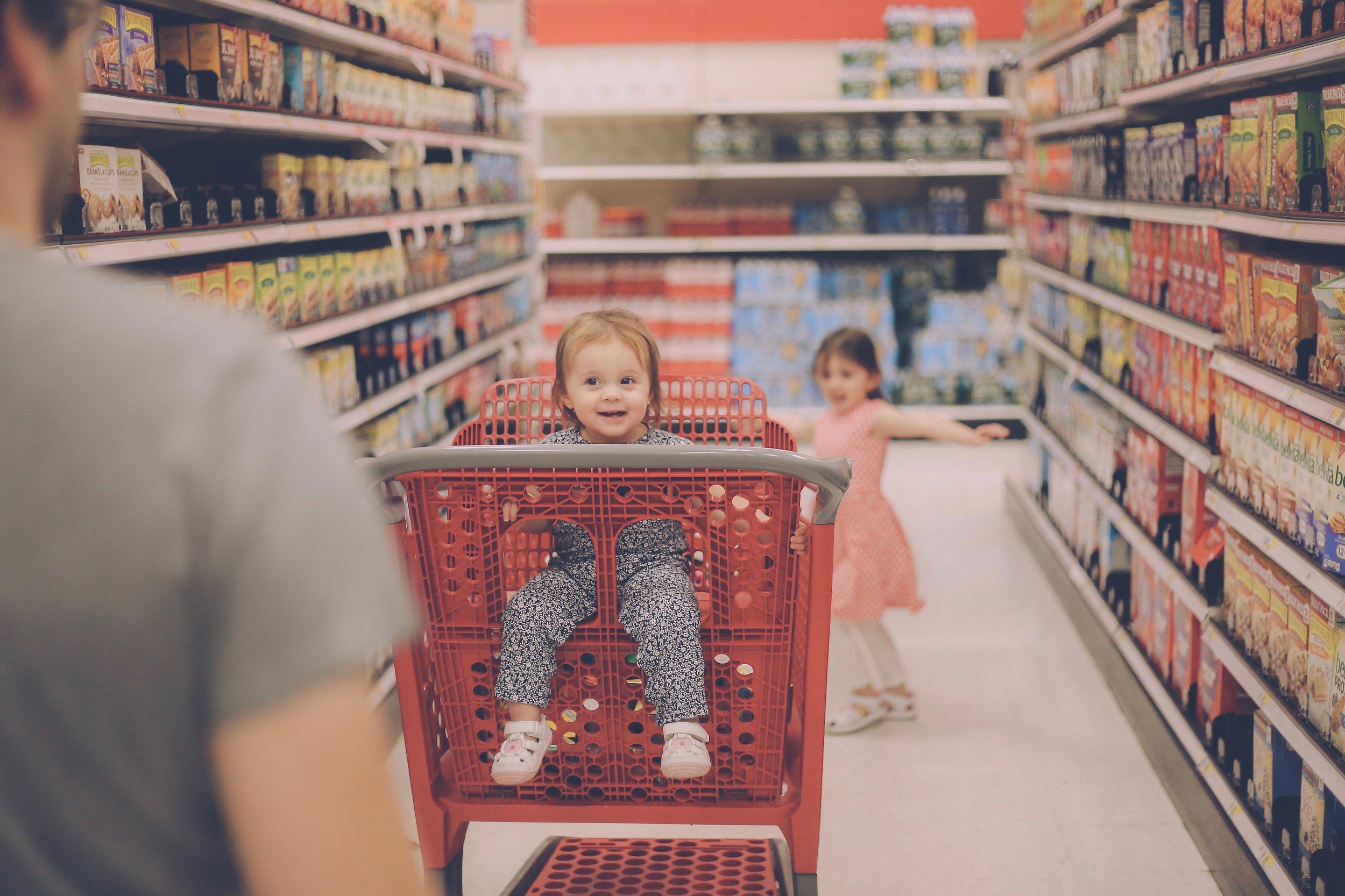 Target Shopping, Family Documentary Photography, New York