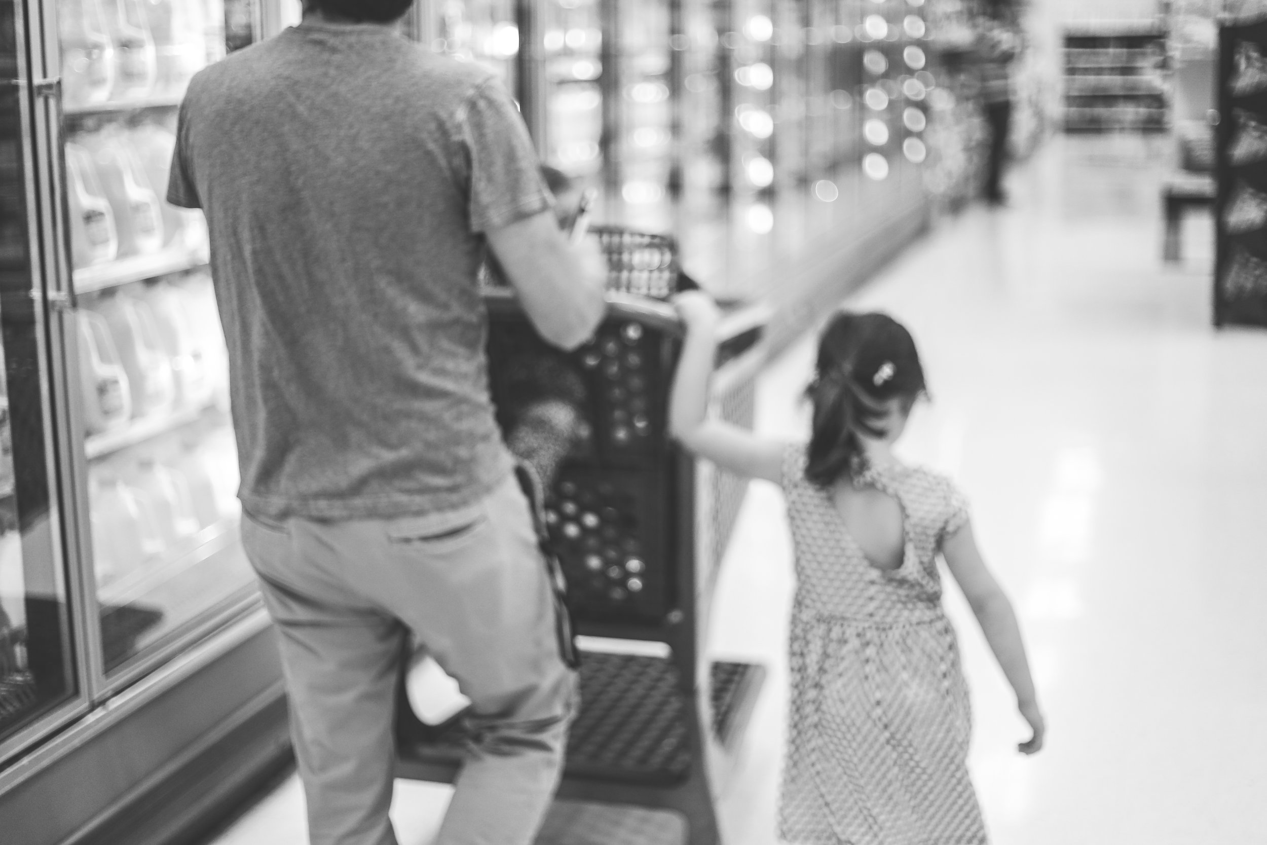 Grocery Shopping, Family Documentary Photography, Staten Island