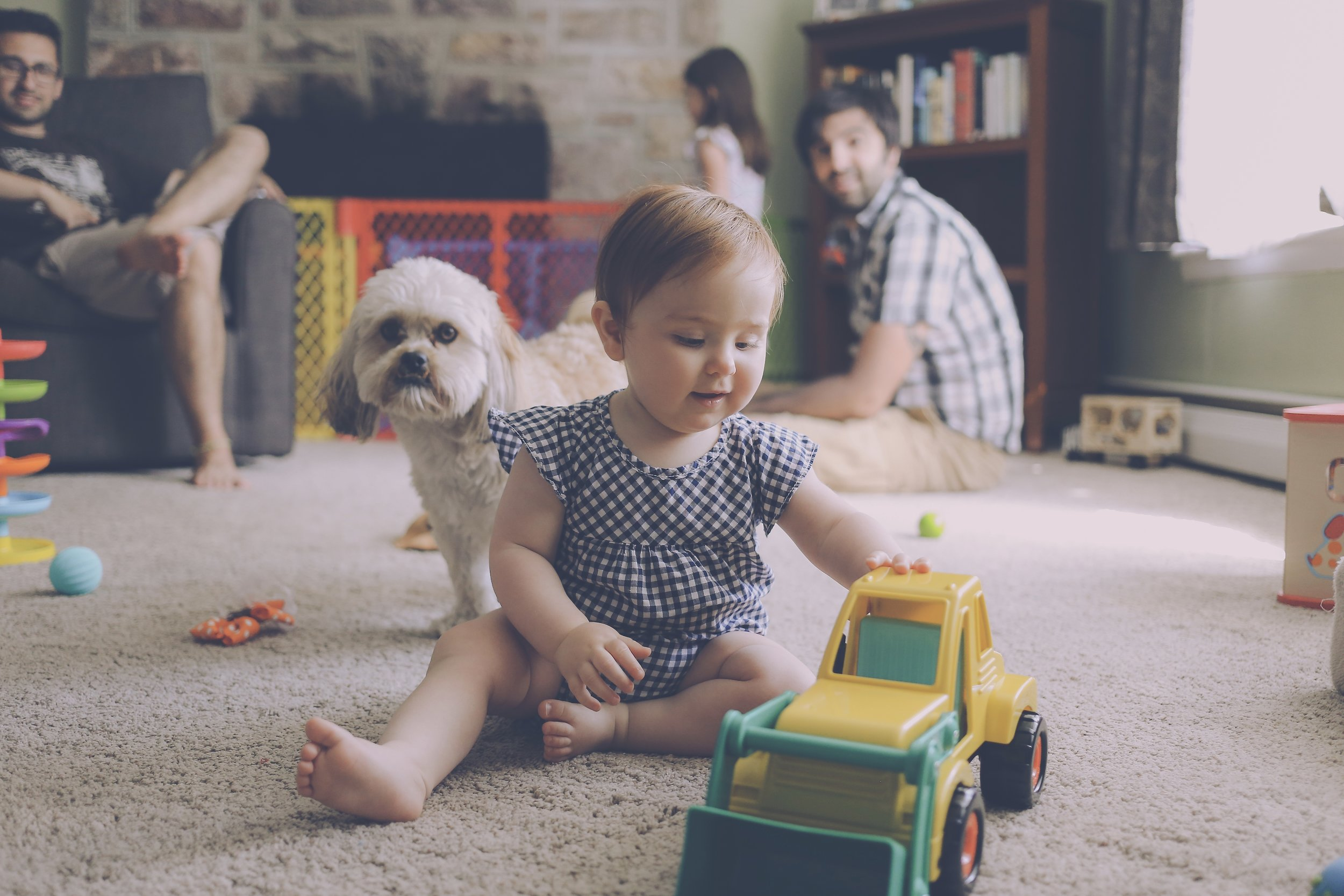 At Home Storytelling Session, Emmaus, PA, Family Photographer