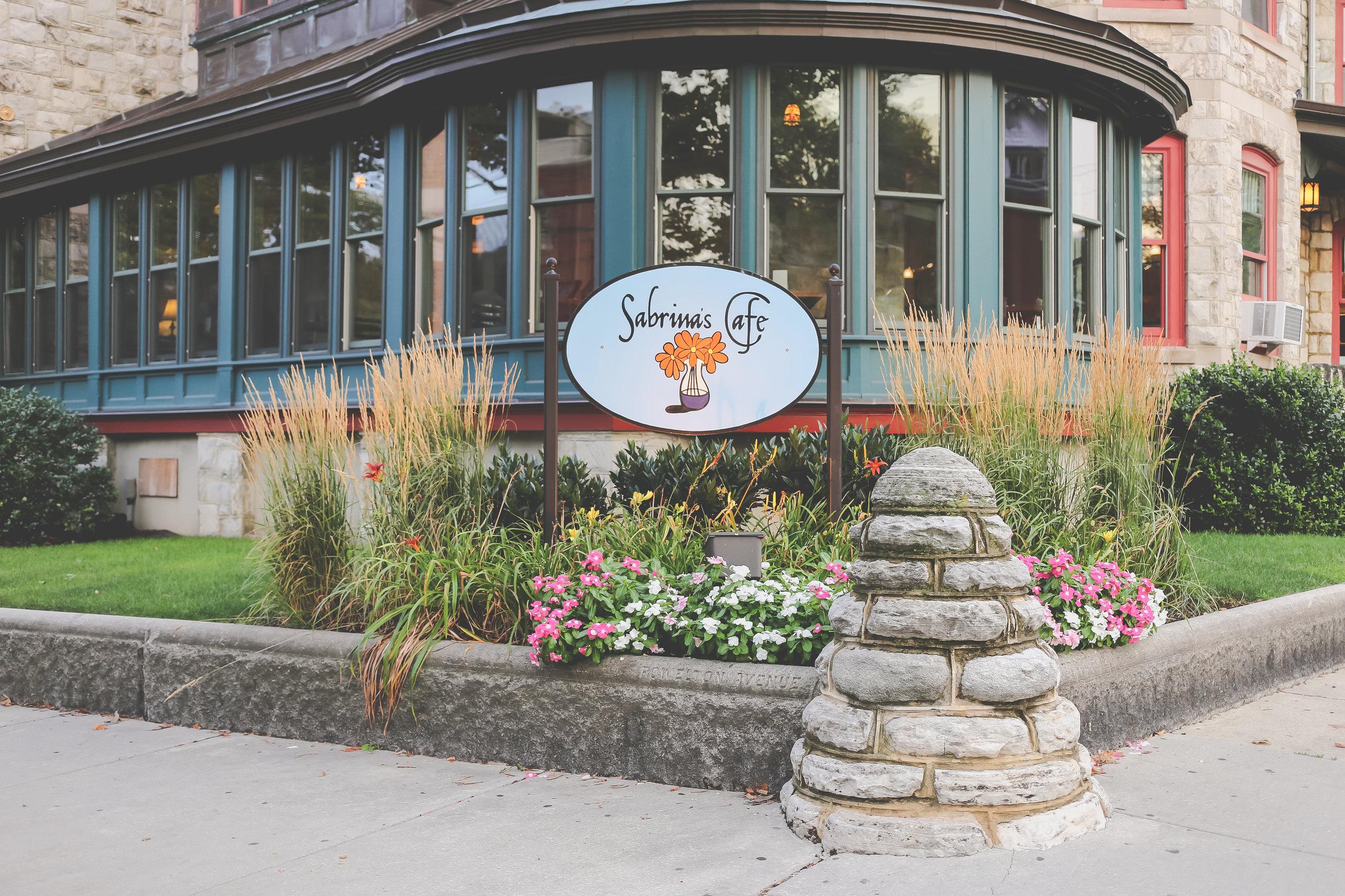 Sabrina's Cafe in University City, Philadelphia, PA.