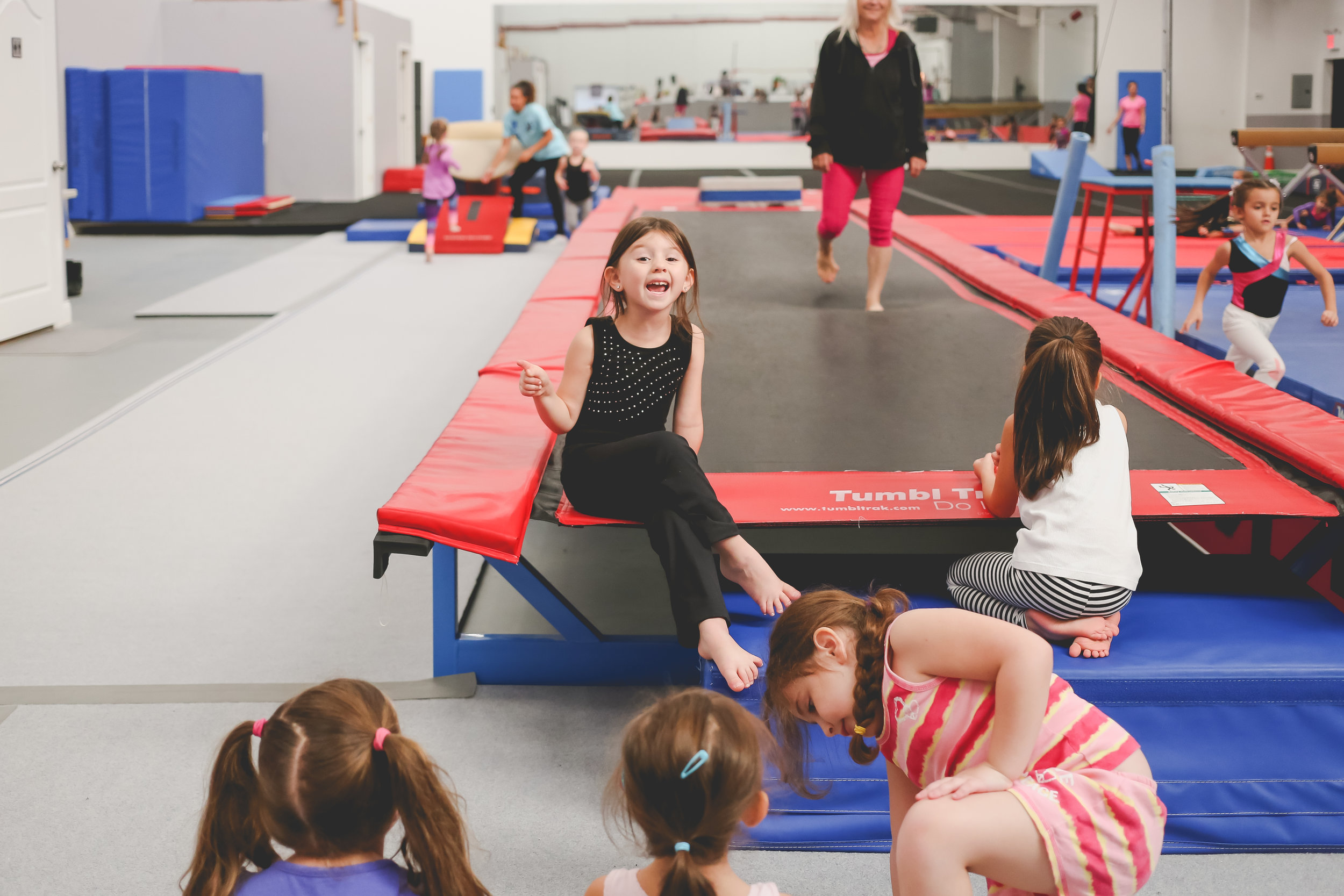 Being sassy at No Limitz gymnastics center in Staten Island, NY. Day in the Life Photography.