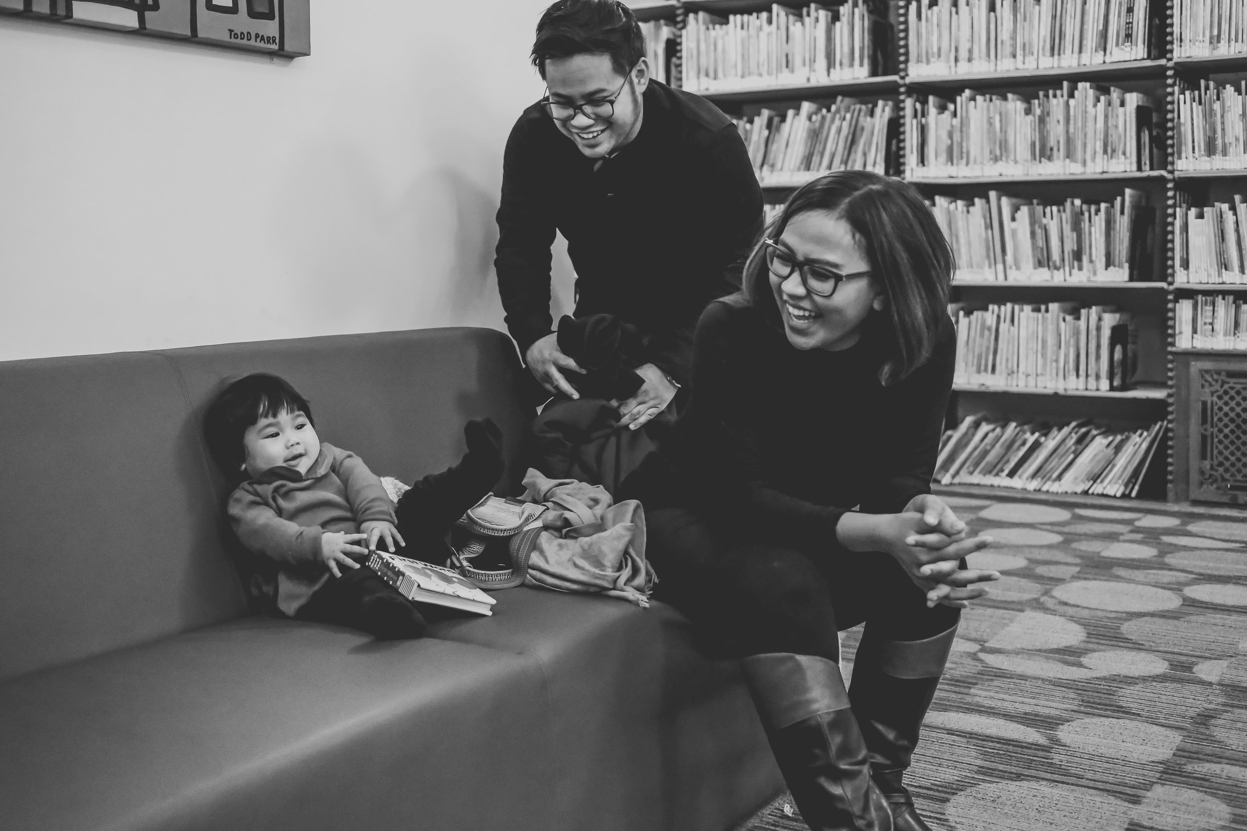 Having fun in the children's room at the Stephen Schwarzman building, NYPL at 42nd Street, New York City. Photo by Jen Grima, Lehigh Valley family photographer.