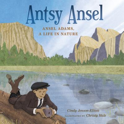 Antsy Ansel: Ansel Adams, A Life In Nature - You may be familiar with Adams's iconic black-and-white nature photographs. But do you know about the artist who created these images? As a child, Ansel Adams just couldn't sit still. He felt trapped indoors and never walked anywhere--he ran. Even when he sat, his feet danced. But in nature, Ansel felt right at home. He fell in love with the gusting gales of the Golden Gate, the quiet whisper of Lobos Creek, the icy white of Yosemite Valley, and countless other remarkable natural sights. Antsy Ansel chronicles a restless boy's path to becoming an iconic nature photographer.