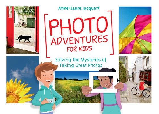 Photo Adventures For Kids: Solving The Mysteries of Taking Great Photos - With Photo Adventures for Kids, you can encourage your child's passion while exploring the art of photography together. Packed with games, strategies, lessons, and challenges, Photo Adventures for Kids makes learning about photographic composition and framing easy and fun. The mission is to find great photographs anywhere and everywhere. Hurry Adventure awaits.