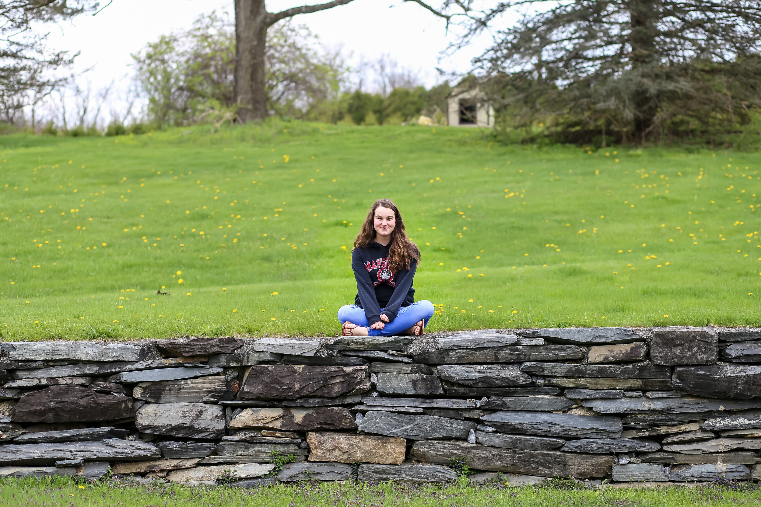 Senior photo session with Jen Grima Photography in Lehigh Valley, PA.
