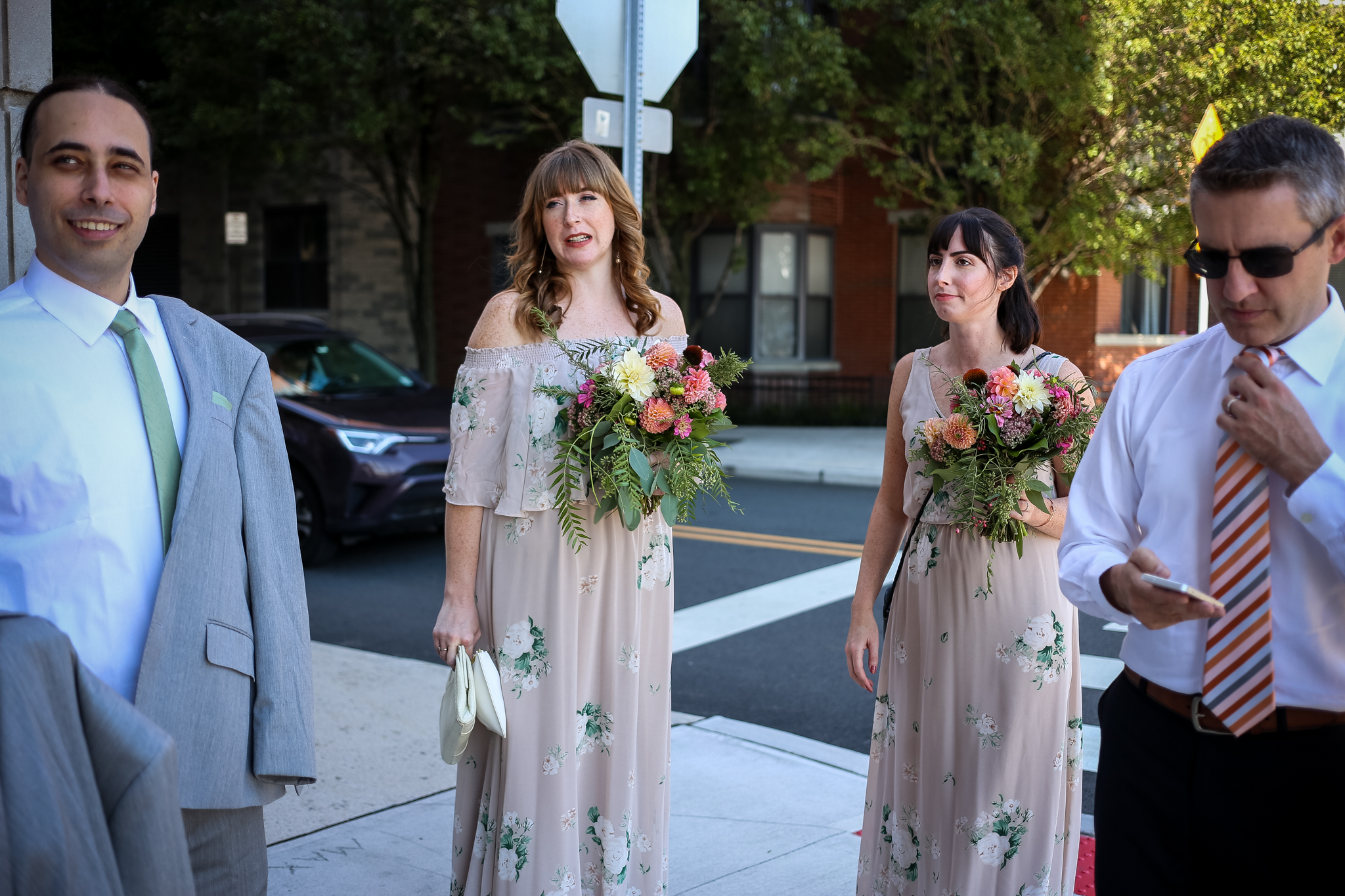 Lehigh Valley bridesmaids, documentary wedding photography.