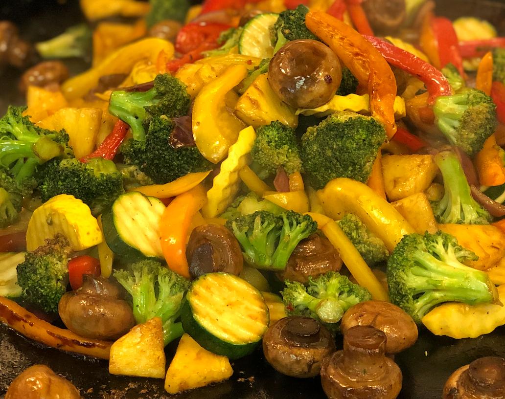 Teri Glazed Veggies