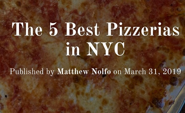 Voted #1 for BEST pizza in Staten Island thanks to @travelyaps, check out their blog to read about their experience!! https://travelyaps.com/the-5-best-pizzerias-in-nyc/ #nycpizza #joeandpats #pizzatime #joeandpatspizza #hungryforpizza