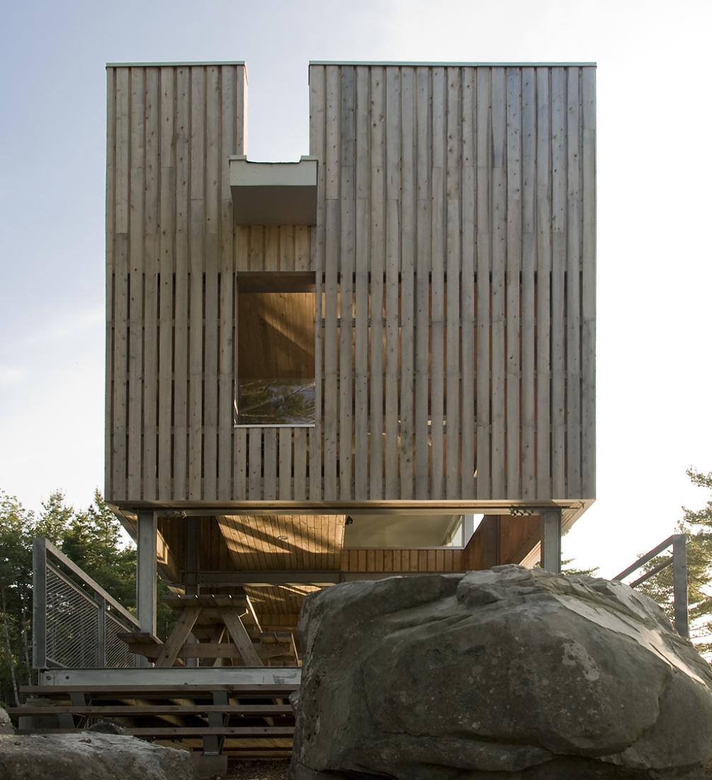 Bridge House by MacKay Lyons Sweetapple Architects