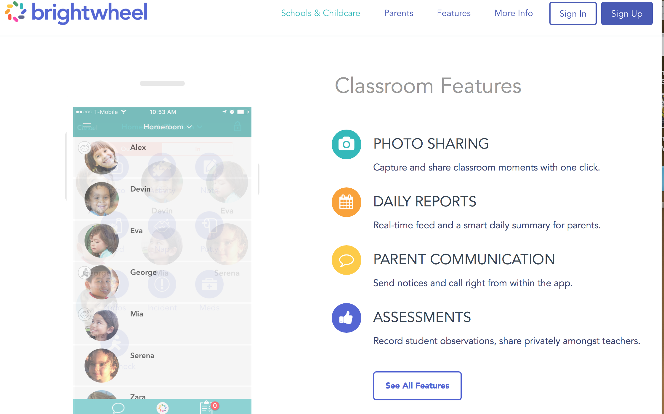 Brightwheel Mobile Application: - Little Wonders utilizes the brightwheel application for a real-time update on your child's activity. Upon registering, parents can stay connected with their child via brightwheel by monitoring their child's page that will display photos, naptime status, and other information as well as allowing for a digital check-in check-out. The program also features automatic electronic billing. For more information visit mybrightwheel.com.