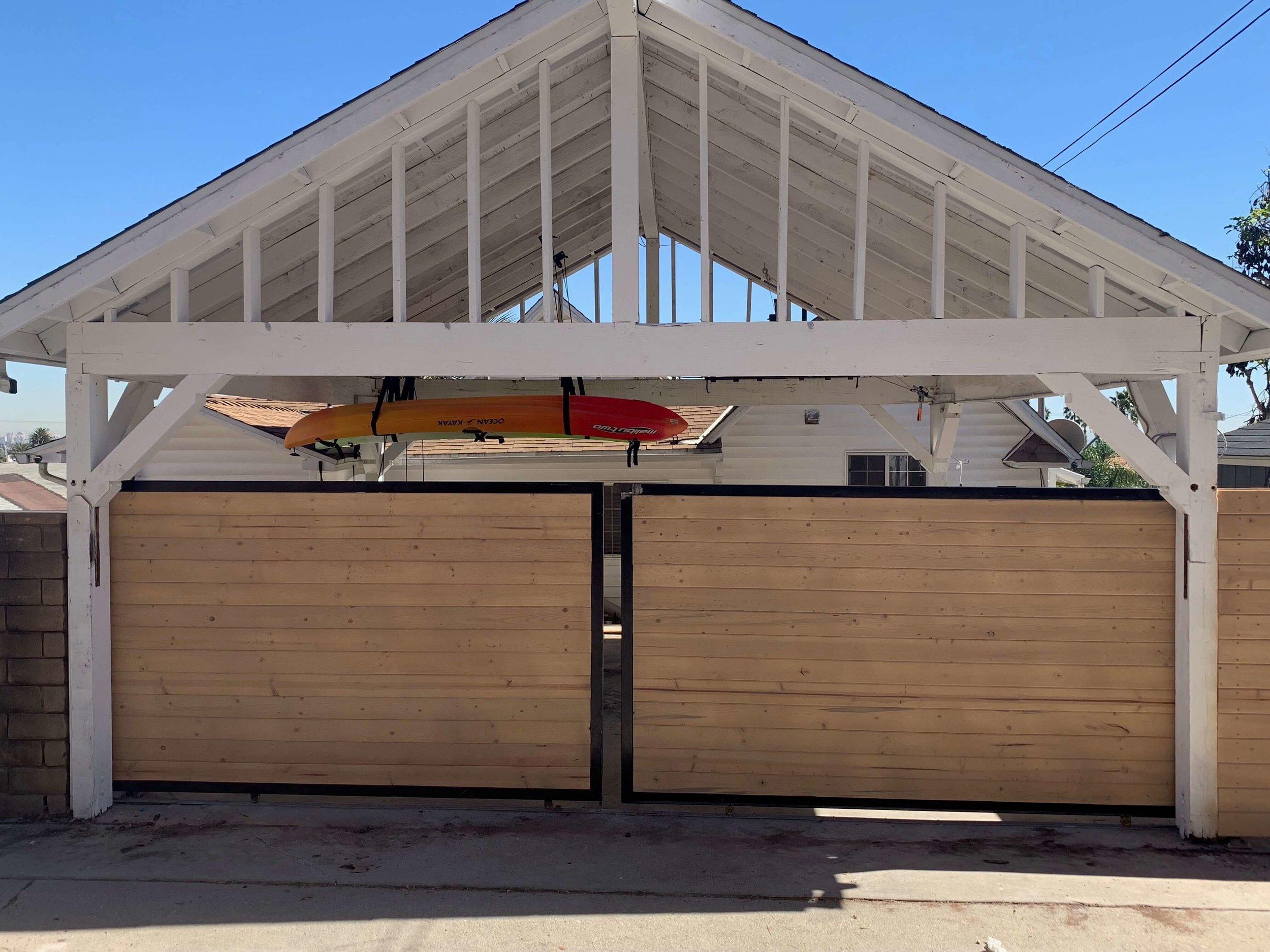 Double Sliding Gate Los Angeles Fence Builders.jpeg